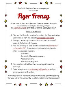 Download a file with both the instruction sheet and the fillable Flyer Frenzy Flyer by clicking on this image!