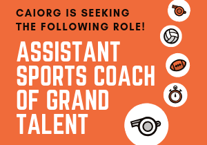 Website 300x250 ASSISTANT SPORTS COACH OF GRAND TALENT
